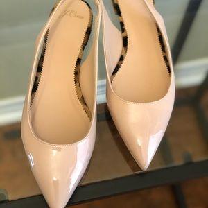 Low kitten chunk heels